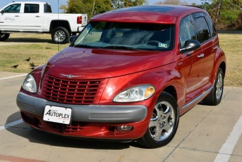 02 Chrysler Pt Cruiser Limited Red With Visor With Images