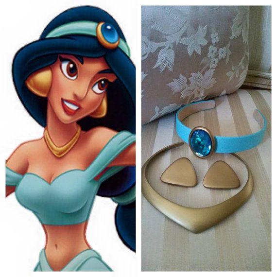 Belly Dancer Arabian Principessa Jasmine Genie Costume Bambina Blu