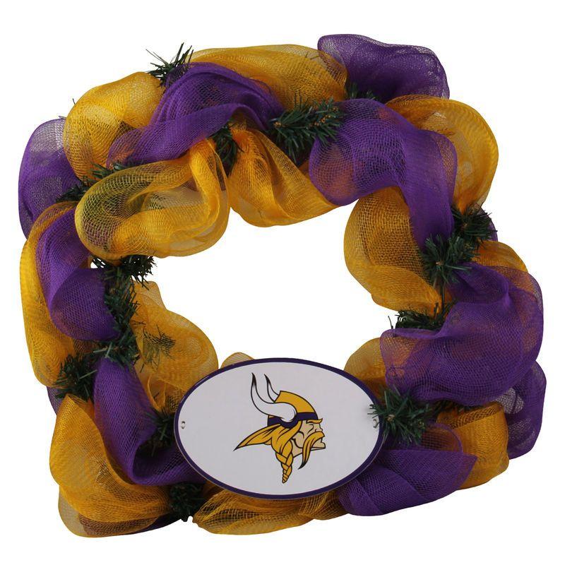 Minnesota Vikings Mesh Wreath