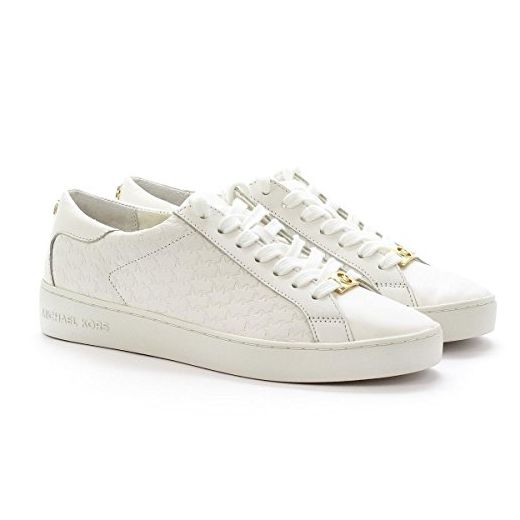 Michael Kors Sneaker low top Colby Optic White Leather Nappa