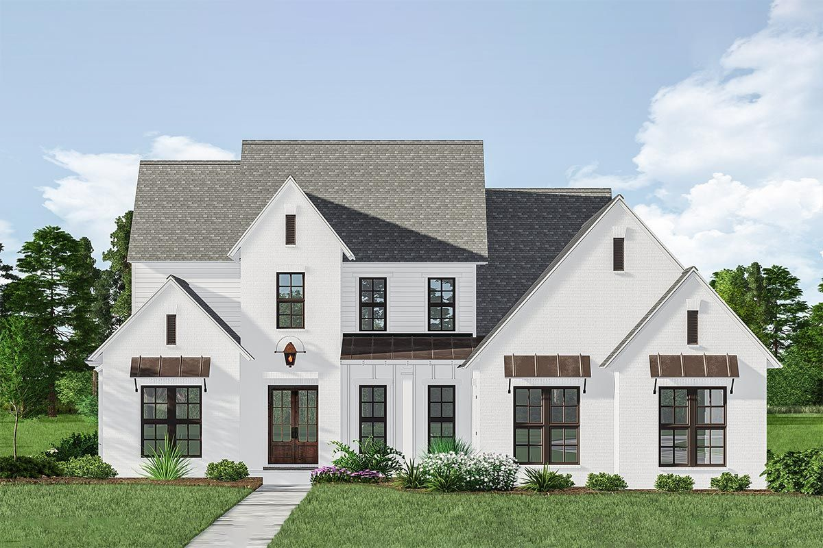 Plan 510066wdy Two Story Acadian House Plan With First Floor Master Acadian House Plans House Plans Modern Farmhouse Exterior