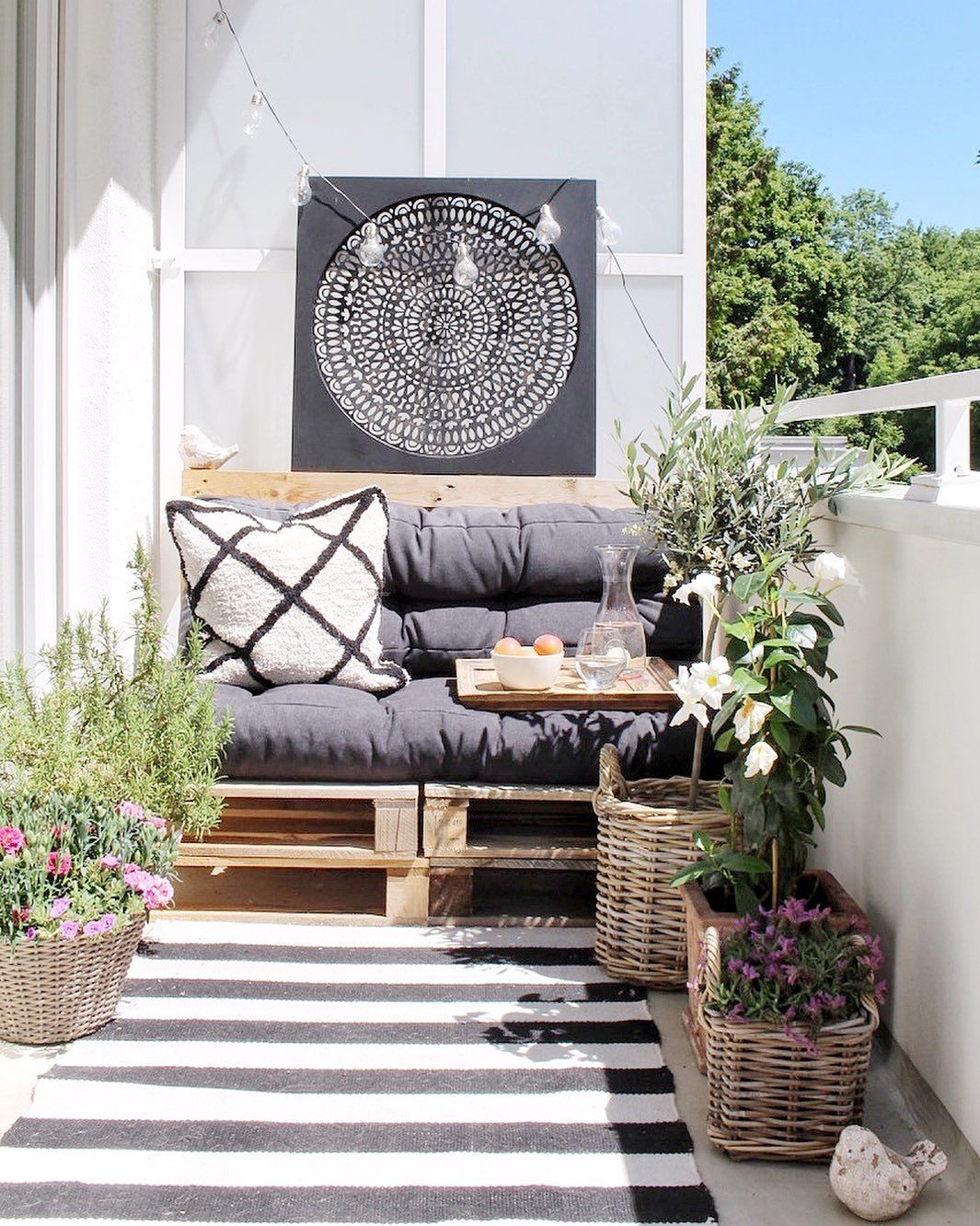 15 Ways To Make Your Small Balcony Space Feel Like