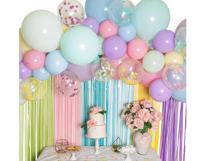 Purple Moon and Star Balloon Garland Kit Perfect for Over the Moon /& Twinkle Twinkle Little Star themed celebrations! Pink and Rose Gold