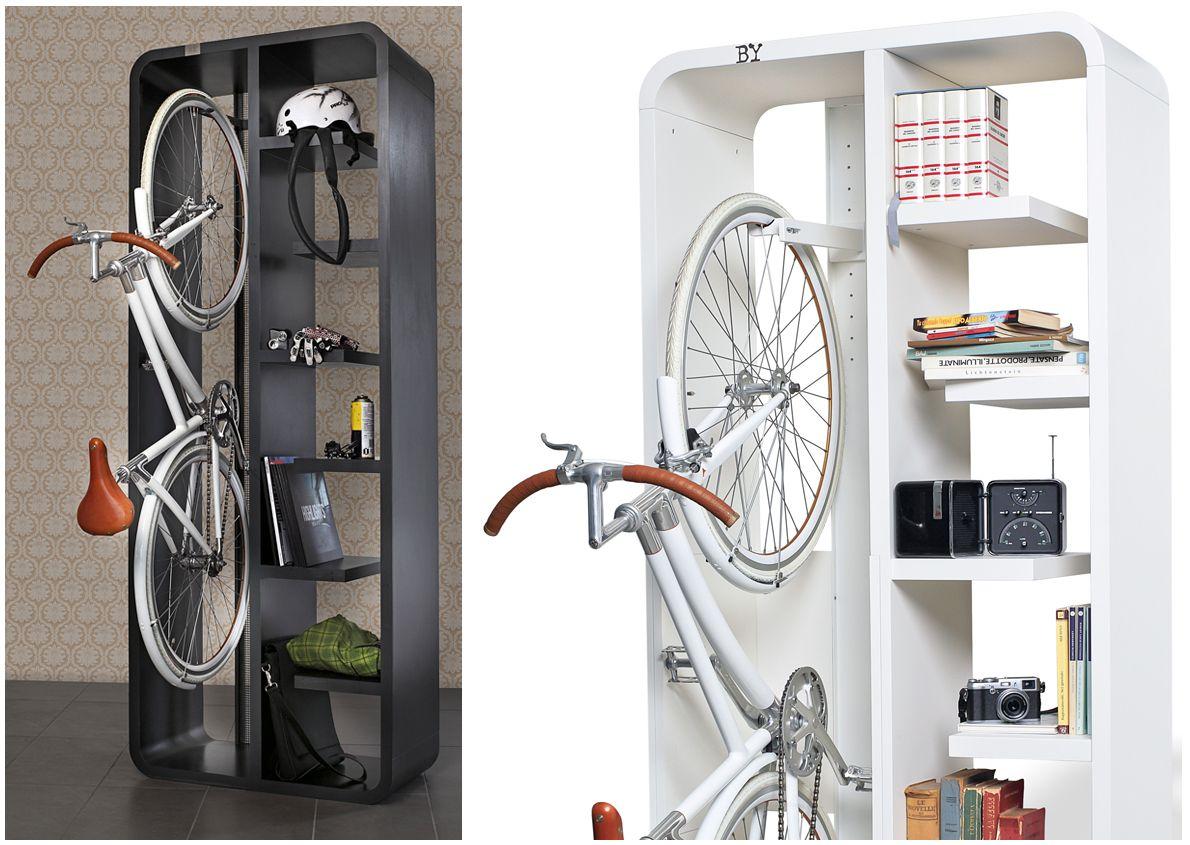 Bookbike Van Byografia : 10 gave manieren om je fiets thuis op te bergen fiets pinterest