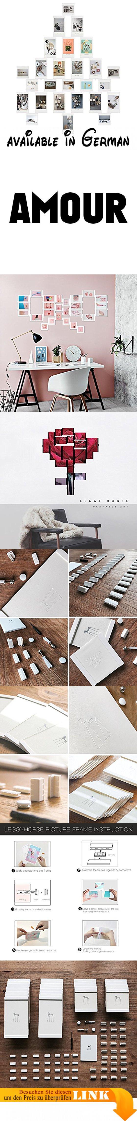 Leggy Horse 26er Bilderrahmen Collage Set Fotorahmen von Acryl ...
