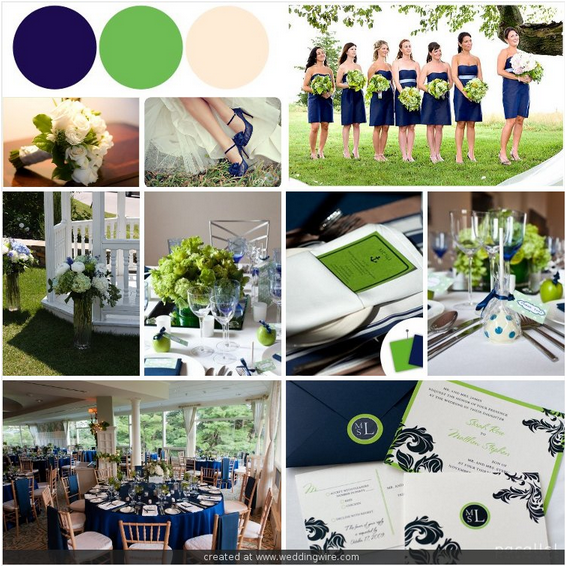 June Wedding Ideas: Coming Up...I'm Planing For A June Wedding Color Scheme