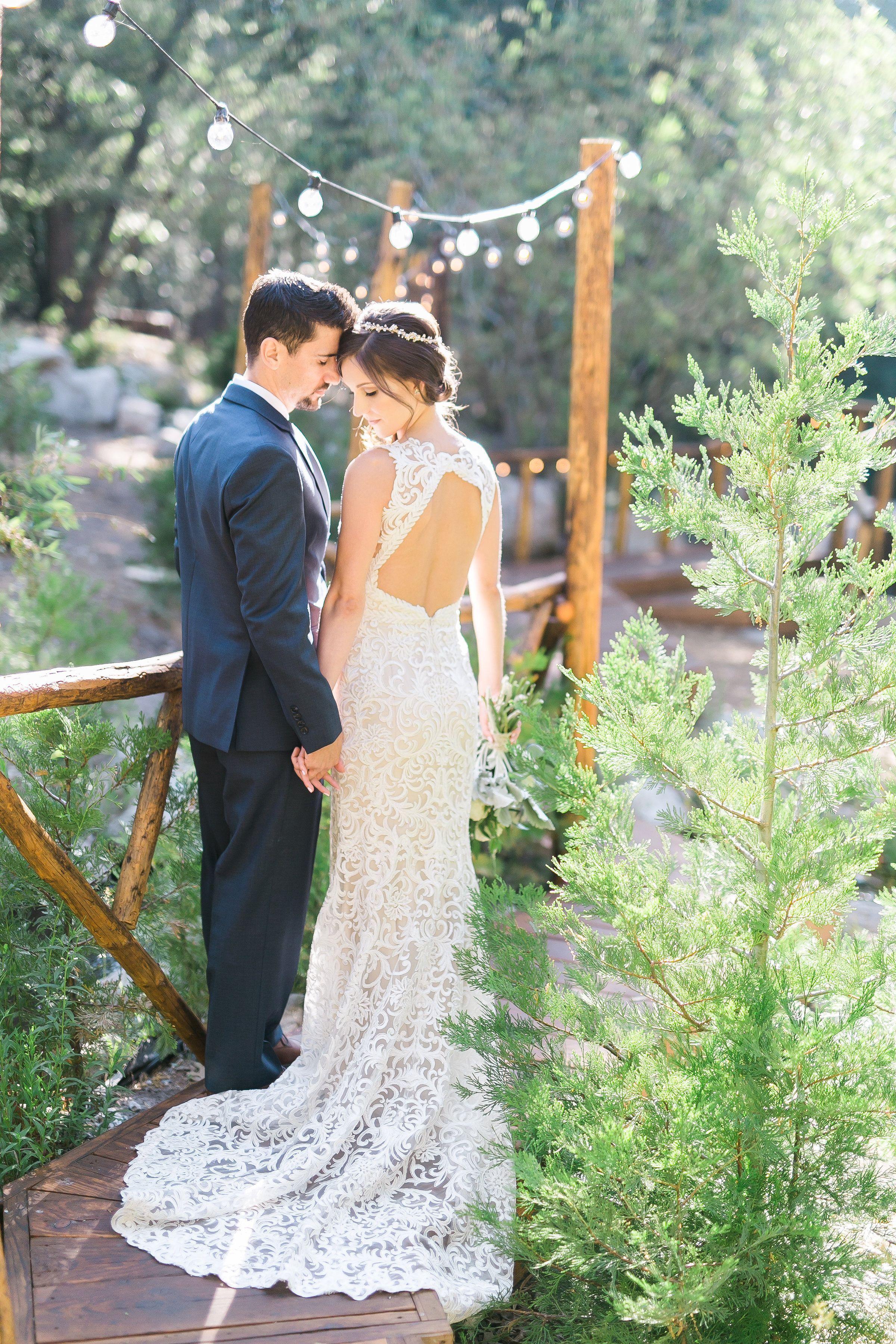 Couple at Hidden Creek Venue in Lake Arrowhead | Rustic ...