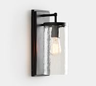 Duvall Indoor Outdoor Recycled Glass Sconce Outdoor