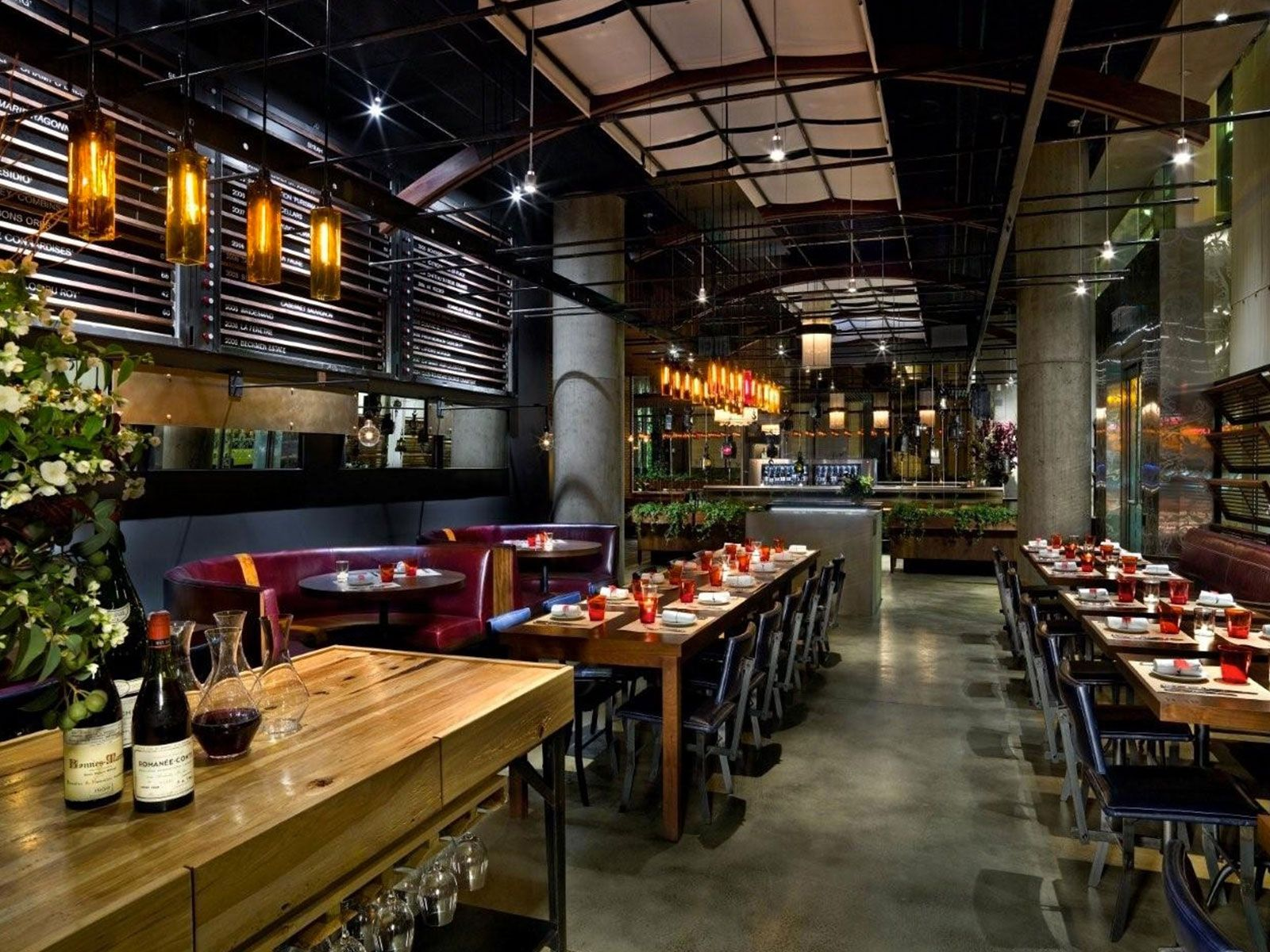 Michael Mina's Rn74 Is A San Francisco Urban Wine Bar And Awesome Private Dining Rooms Seattle 2018