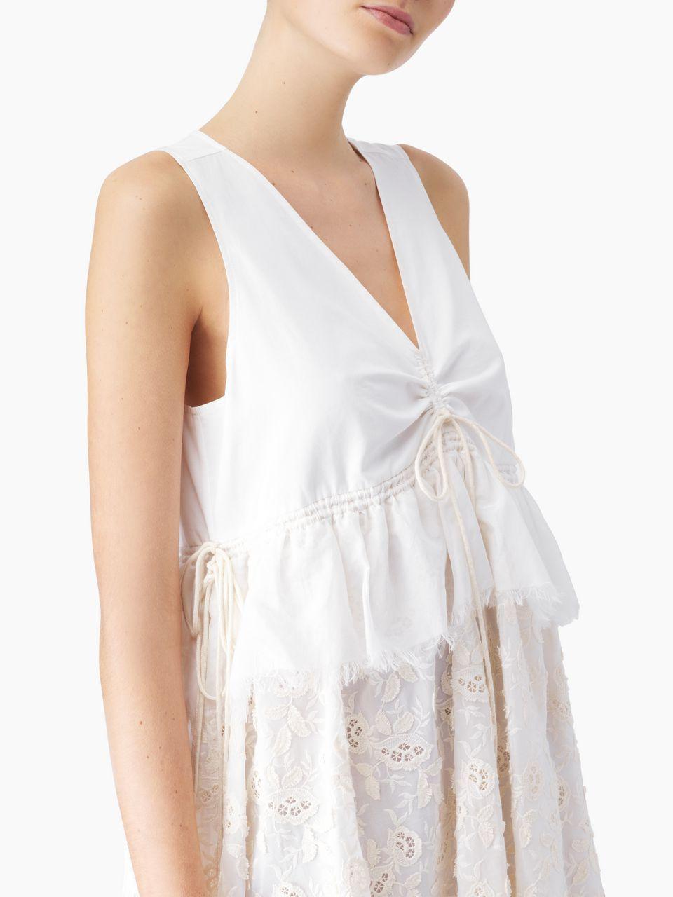 See By Chloe V Neck Dress Chloe In Dresses V Neck Dress Fashion [ 1280 x 960 Pixel ]