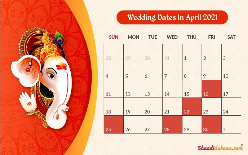 Calendrier Don Du Sang 2021 Auspicious Wedding Dates in 2021: See, Fix and Plan Your Wedding