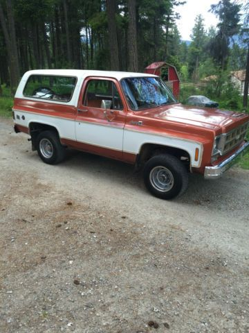 1977 Jimmy Blazer High Sierra 4x4 400 Original Paint 73 000