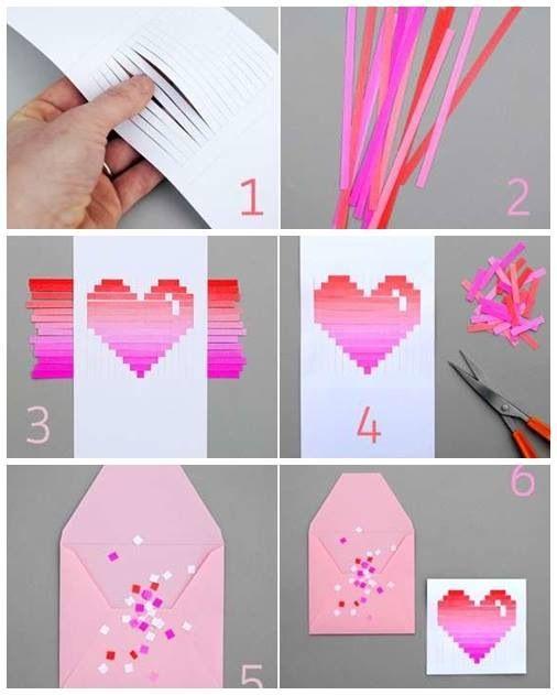Diy Love Letter Crafts Valentine Crafts Diy Gifts