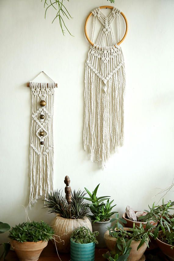 Macrame Wall Hanging Wall Decor Wall Art Fiber Art Weaving