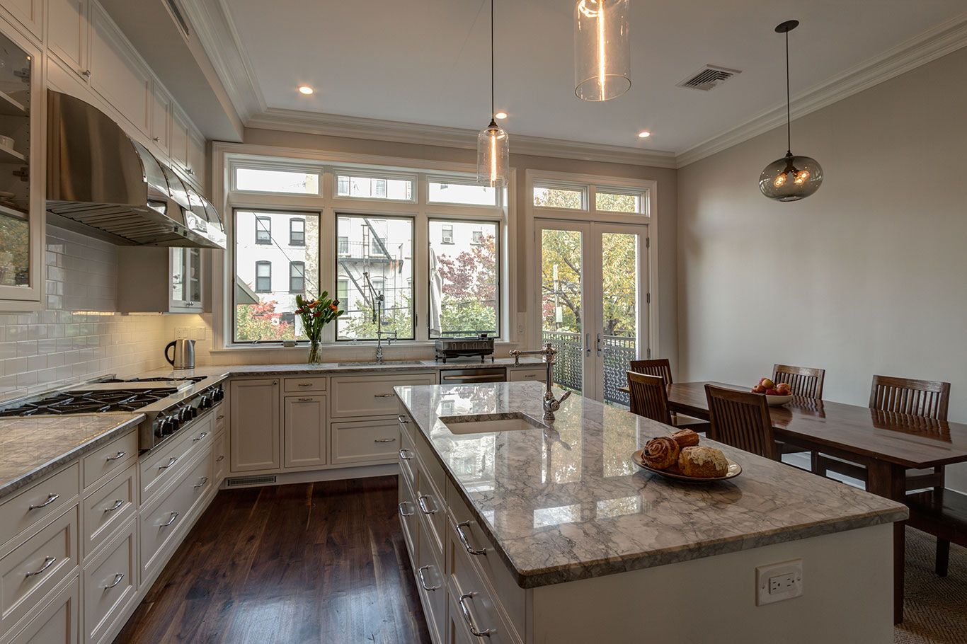 Kitchen In A Brownstone Renovation Park Slope Brooklyn Ben