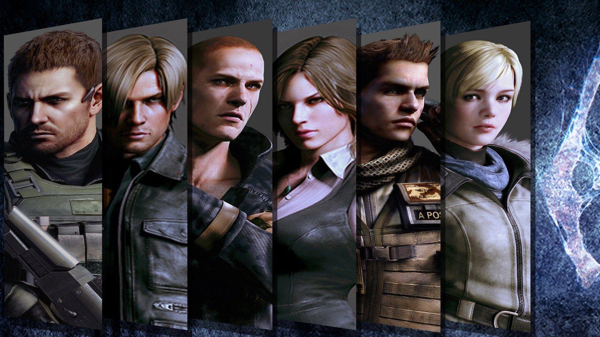 1920x1080 Resident Evil 6 game wallpaper Дайвинг
