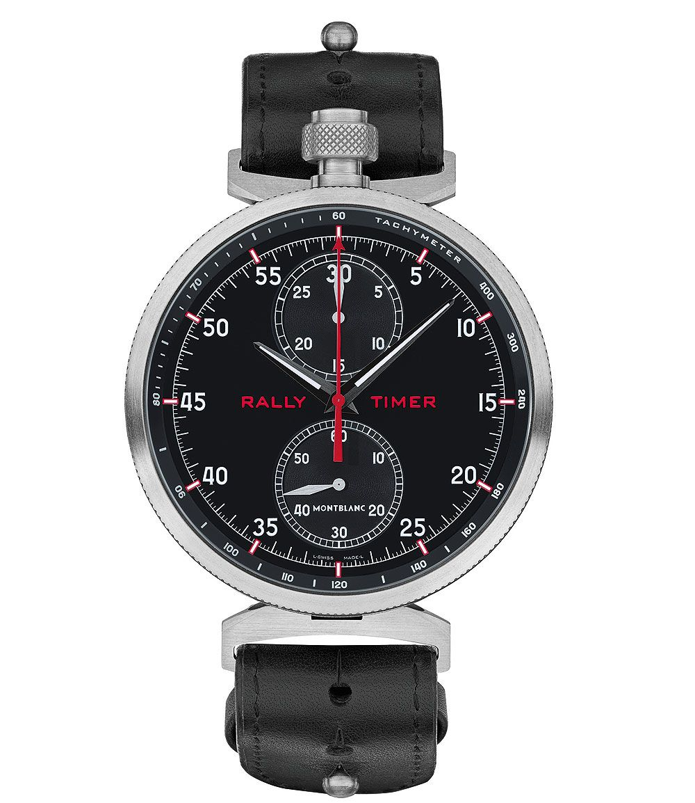 76e9808f780 Montblanc TimeWalker Chronograph Rally Timer Counter is Three Watches in One