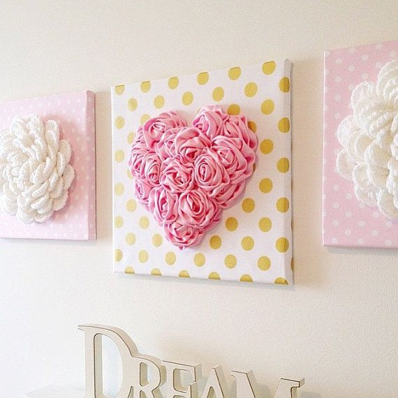 Make Your Walls Pop With Our Gorgeous 3d Heart Wall