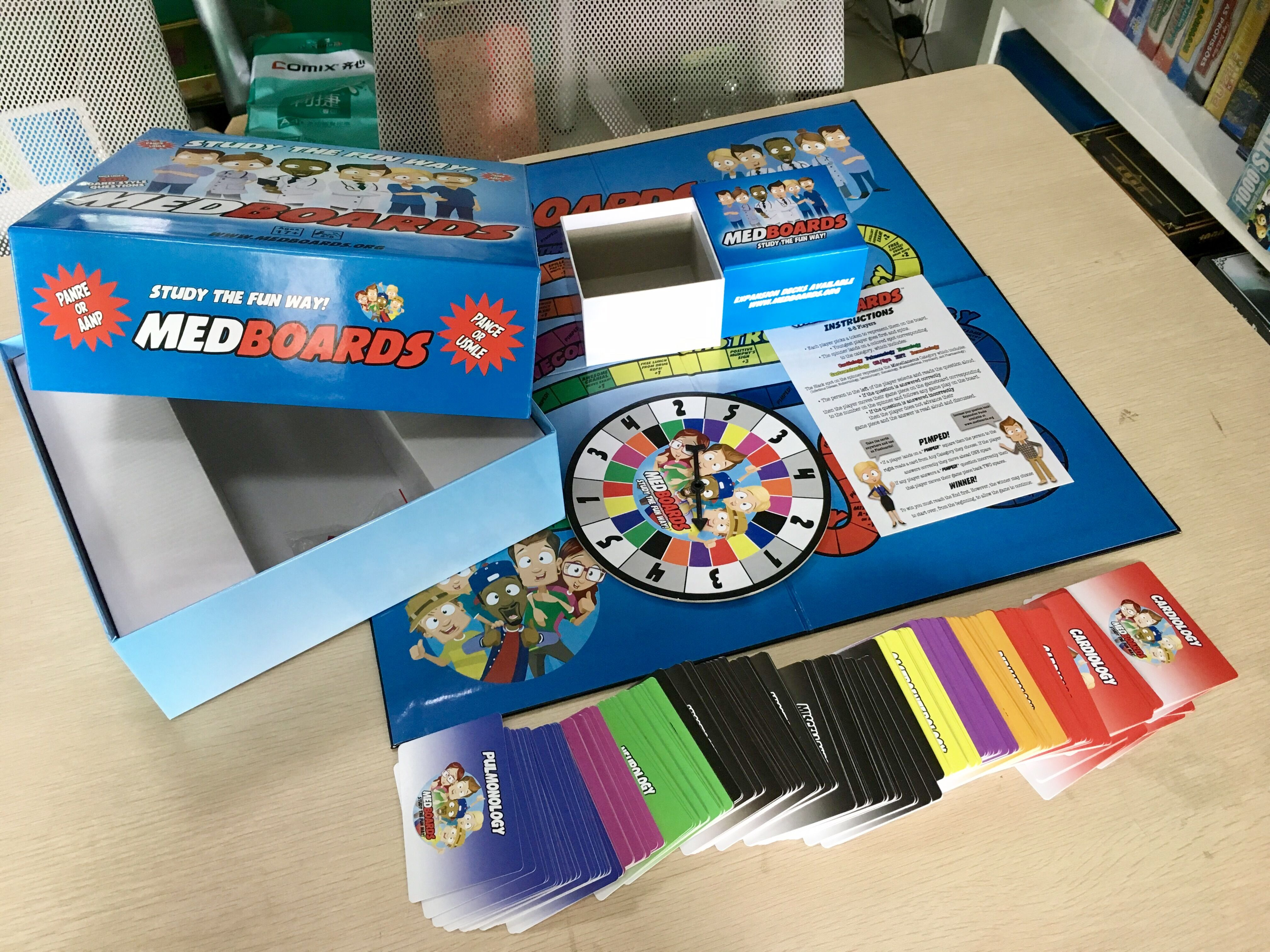 Medboards is a Board Game specifically for the USMLE or