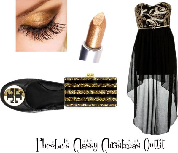 """""""Gold and Black"""" by dreamofdream ❤ liked on Polyvore"""