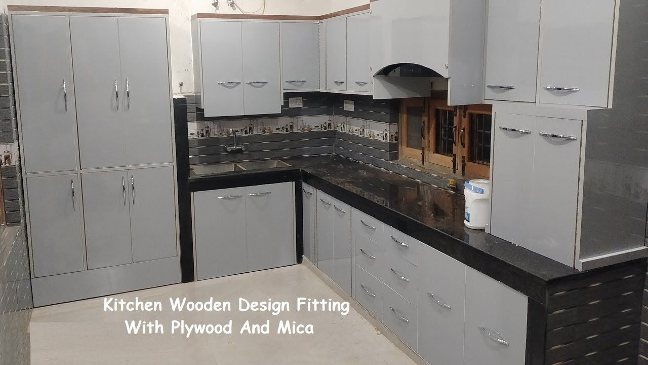 Kitchen Wooden Design Fitting With Plywood And Mica Sunmica Pvc In 2021 Wooden Design Kitchen Design Plywood [ 720 x 1280 Pixel ]