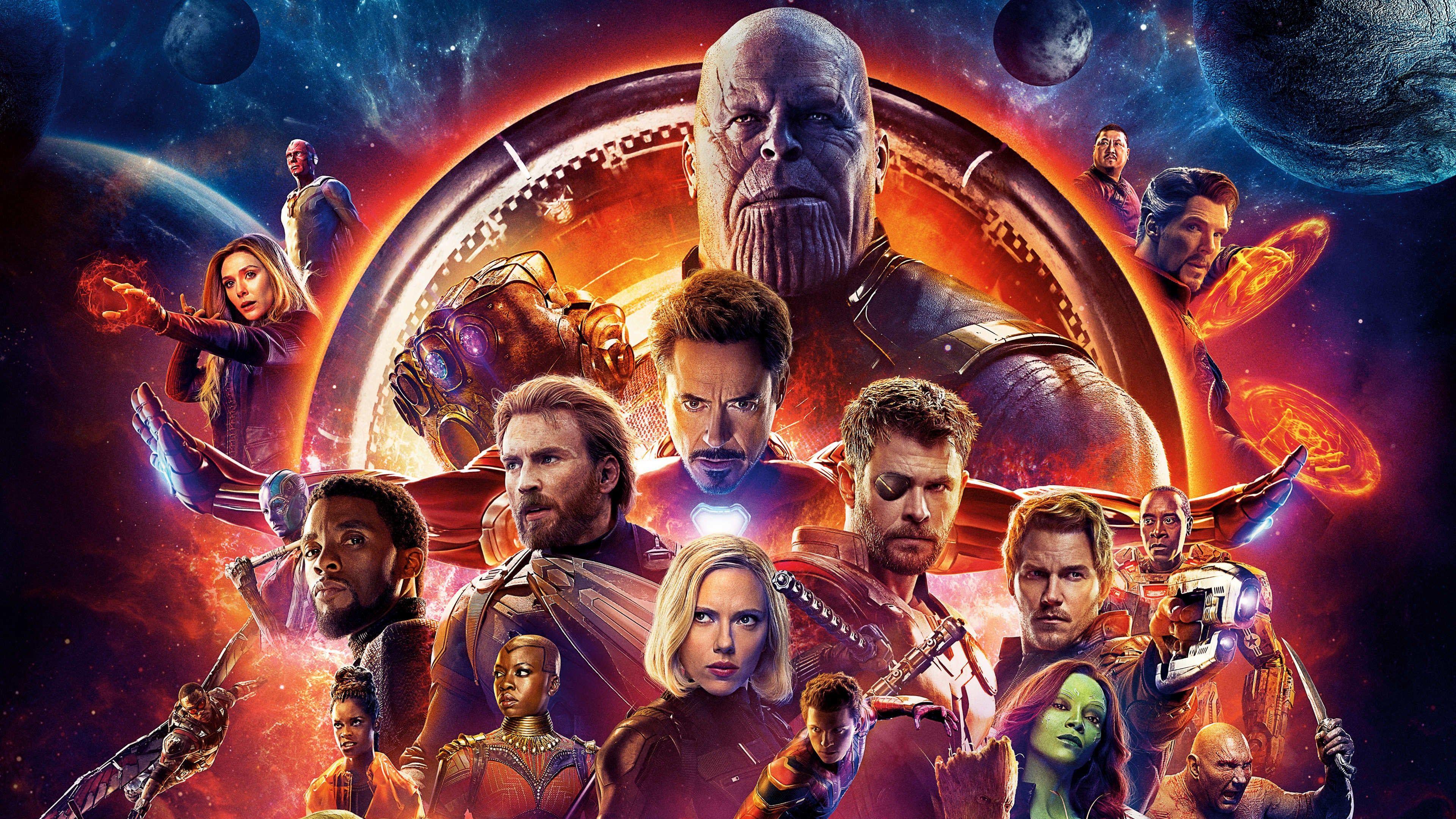 Avengers Infinity War 2018 Um In 2020 Avengers Kriegsfilme