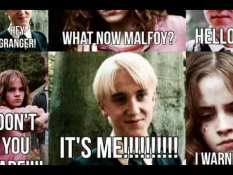 Funny Harry Potter Memes Draco : Crabbe with a wigu wig harry potter and draco