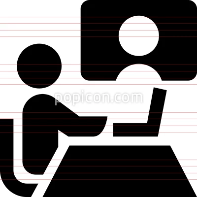 Meeting Icon On White Background Download A Free Preview Or High Quality Adobe Illustrator Ai Eps Pdf And High Res Vector Free Web Icon Vector Business Icon