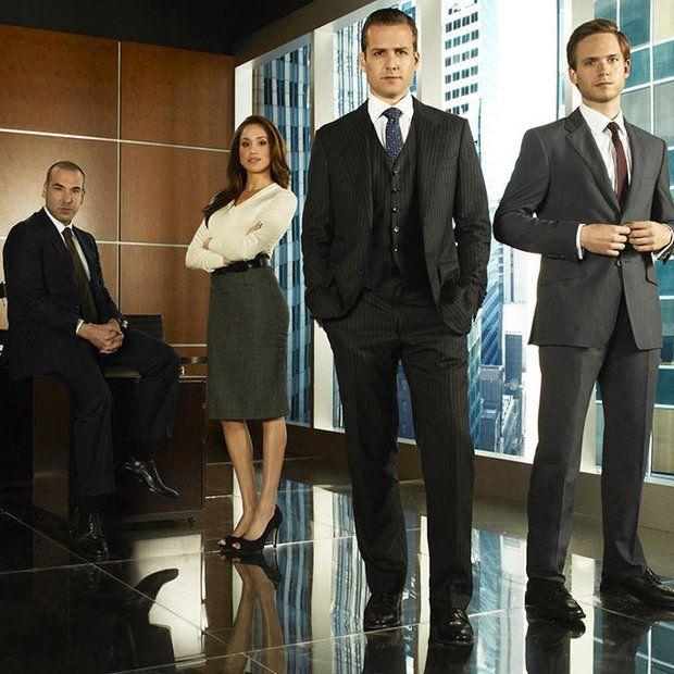 Prince Harry Visits Meghan Markle On 'Suits' Set