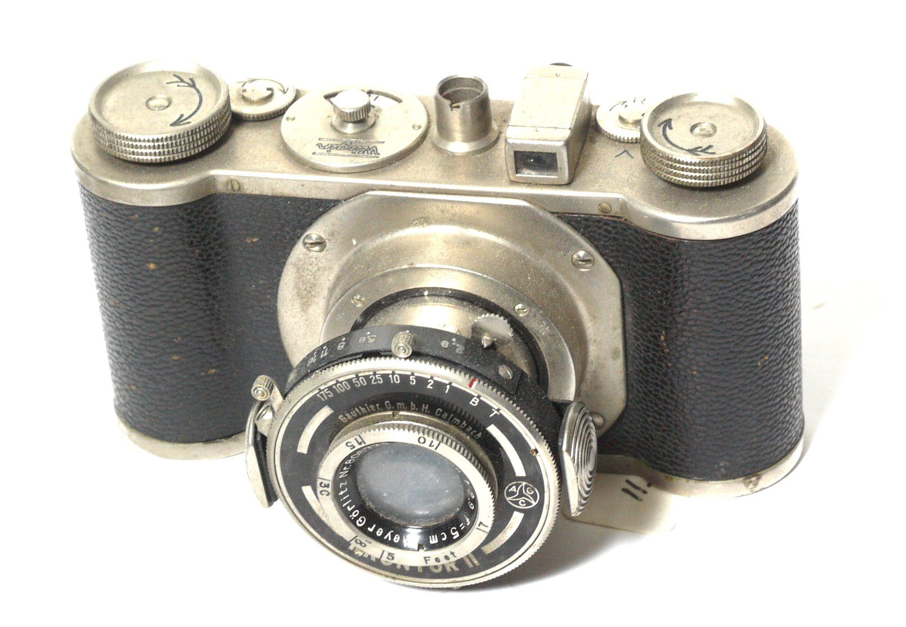 Wirgin Edinex 35mm Compact Viewfinder Camera