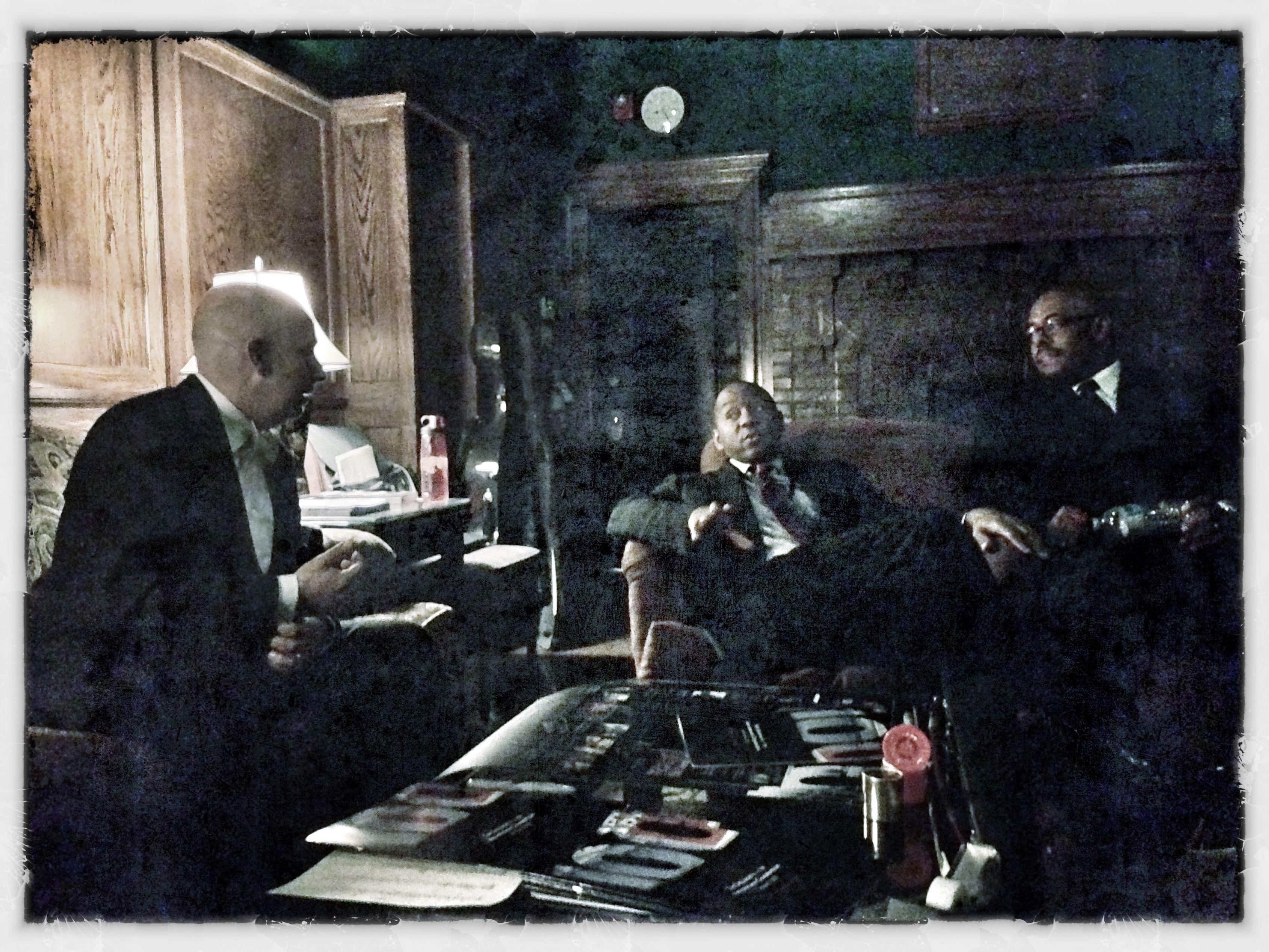 Three Kings Of Jazz: Peter Martin, Branford Marsalis , and Christian McBride. 10-11-12