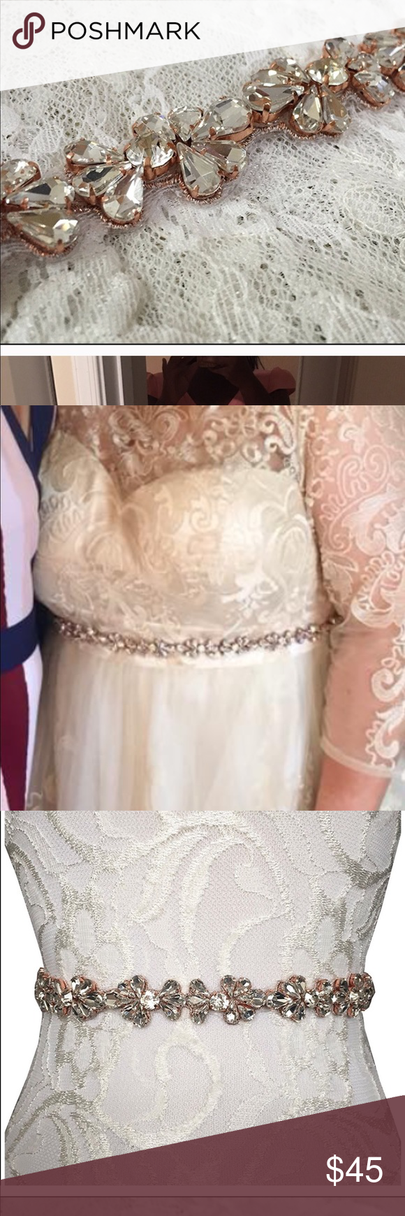 Gold belt for wedding dress  Jeweled beltsash  Jewel Gold and Customer support