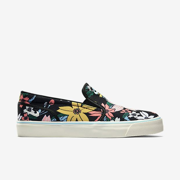 Trendy Ideas For Women's Sneakers : Nike WMNS Toki Slip-On Print Canvas  (Aloha Pack).