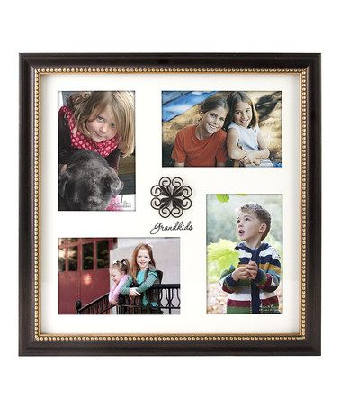 Take a look at this Black \'Grandkids\' Collage Matted Frame by Malden ...