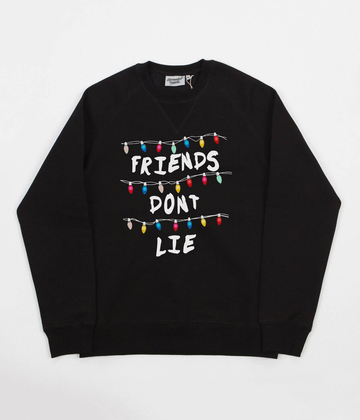 Excited To Share The Latest Addition To My Etsy Shop Black Stranger Things Inspired Friends Don T Stranger Things Outfit Stranger Things Hoodie Sweatshirts [ 1400 x 1200 Pixel ]