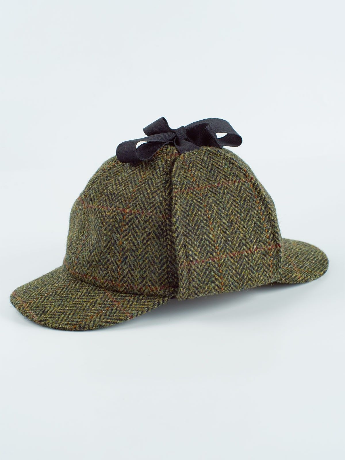 78cb0283ba1 Harris Tweed Deerstalker - dress in Sherlock style
