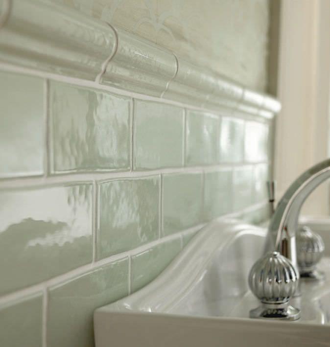 Lovely White Border Tiles Bathrooms #7: Grey Dado Border - Google Search