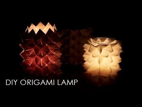 Photo of DIY Origami Lampe