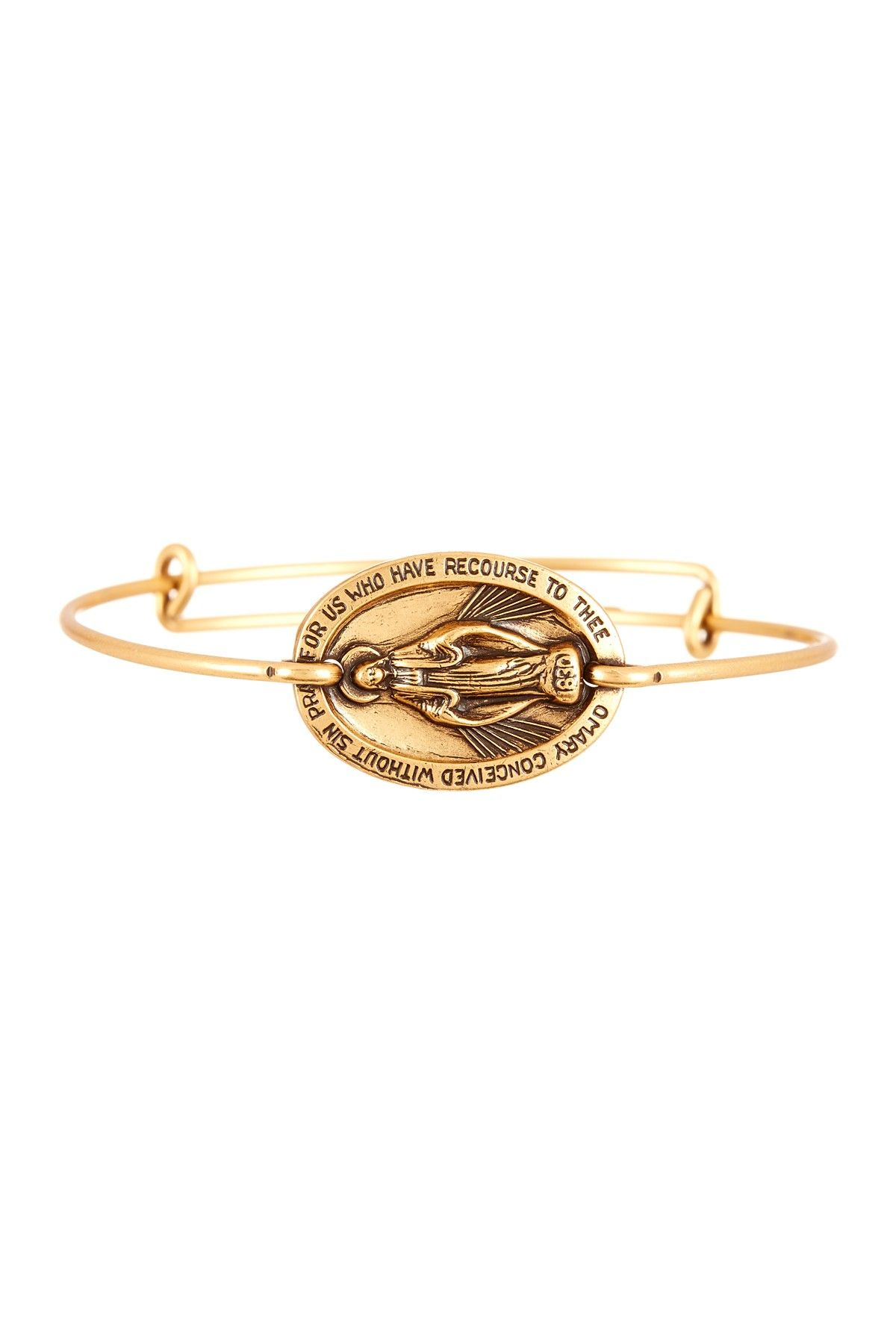Mother mary horizontal bangle by alex and ani on hautelook