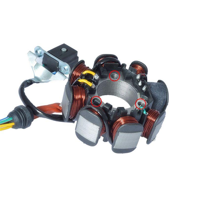 2088 motorrad 5 Draht 8 Pole Magneto Stator Coil Generator Für Honda ...