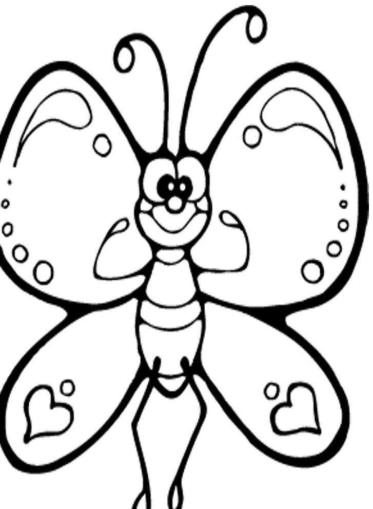 Butterfly Cartoon Kids Coloring Pages Kids Coloring Pages Printable Coloring Pages Col Butterfly Coloring Page Butterfly Drawing Geometric Coloring Pages
