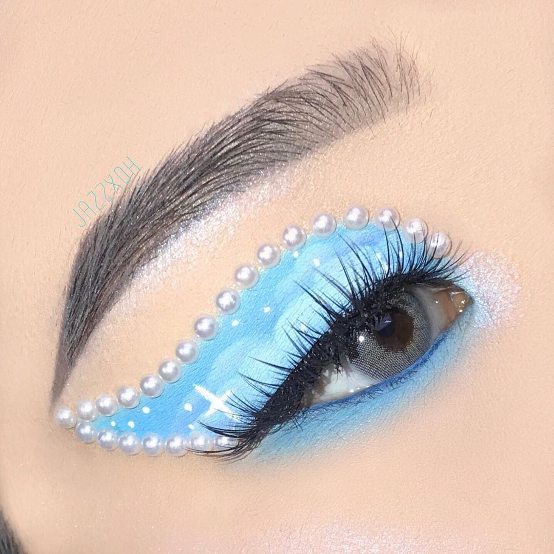 Polar Lights Blue Grey Colored Contact Lenses Contact Lenses Colored Grey Contacts Colored Contacts