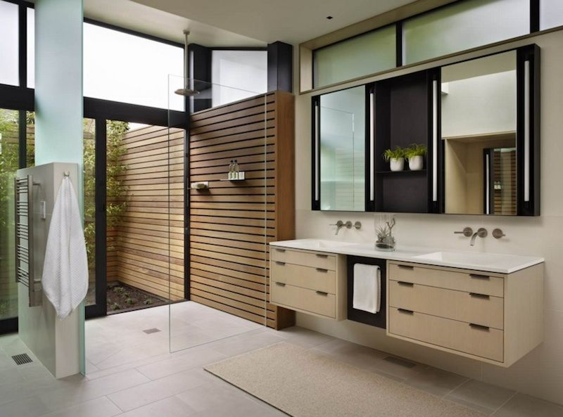 Looking for modern bathroom ideas? Here's how to strike a balance between creating a stylish, comfortable space and making sure it doesn't feel too sterile.