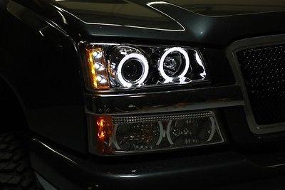 For 2003 2006 Chevy Silverado Twin Halo Led Pro Headlights Head Lights Pair Chevy Silverado 2006 Chevy Silverado Chevy