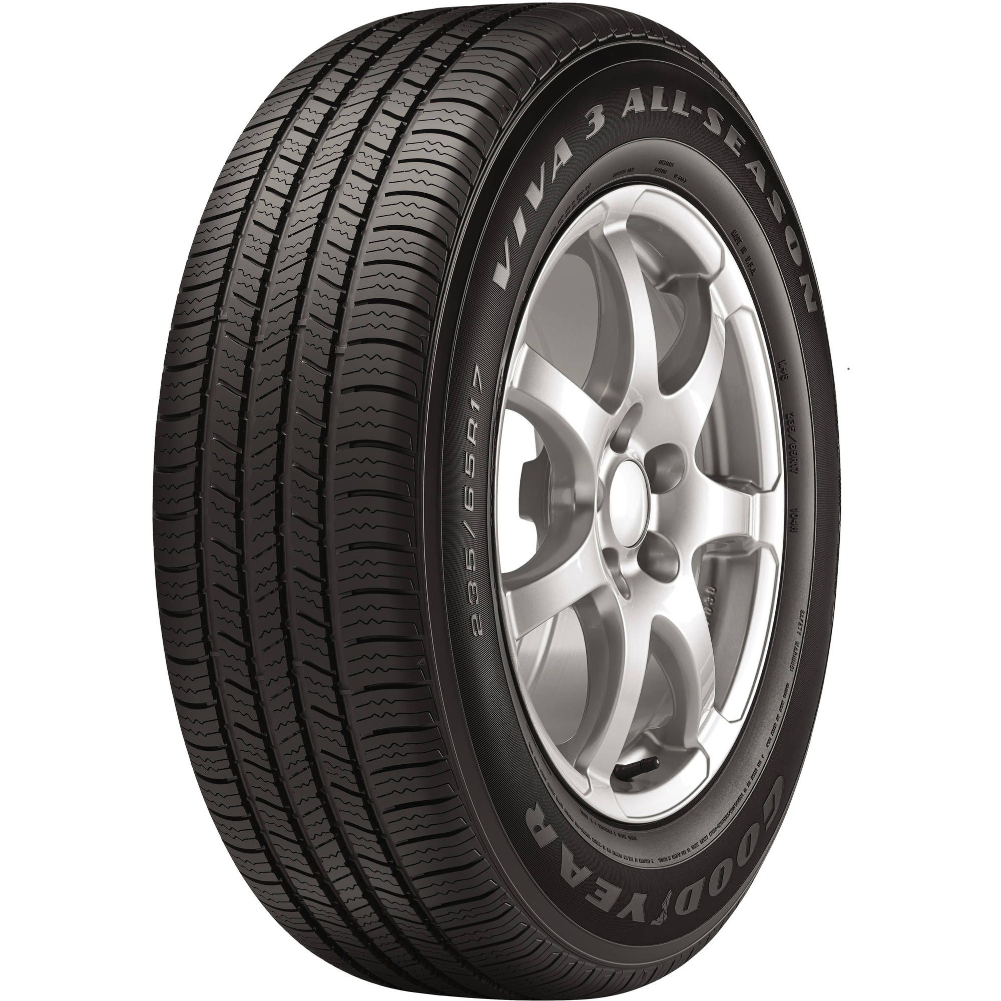 Goodyear Viva 3 All Season Tire 235 55r18 100h Walmart Com