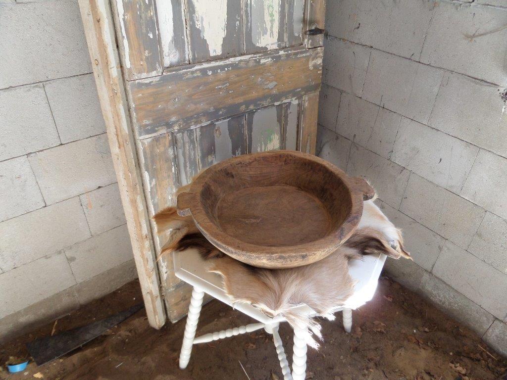 Decoratie houten schaal, schalen vintage woonkamer hout | Inspiratie ...