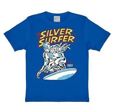 Silver Surfer Kids T-Shirt, Superhero - Marvel - Childrens Tee, blue -  LOGOSHIRT | T-Shirts & Tops | T-Shirts, Tops & Shirts