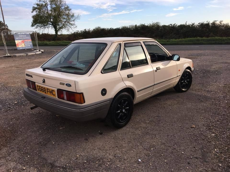 Check out this Escort. ford escort mk4 1.3 5 door *low mileage ...
