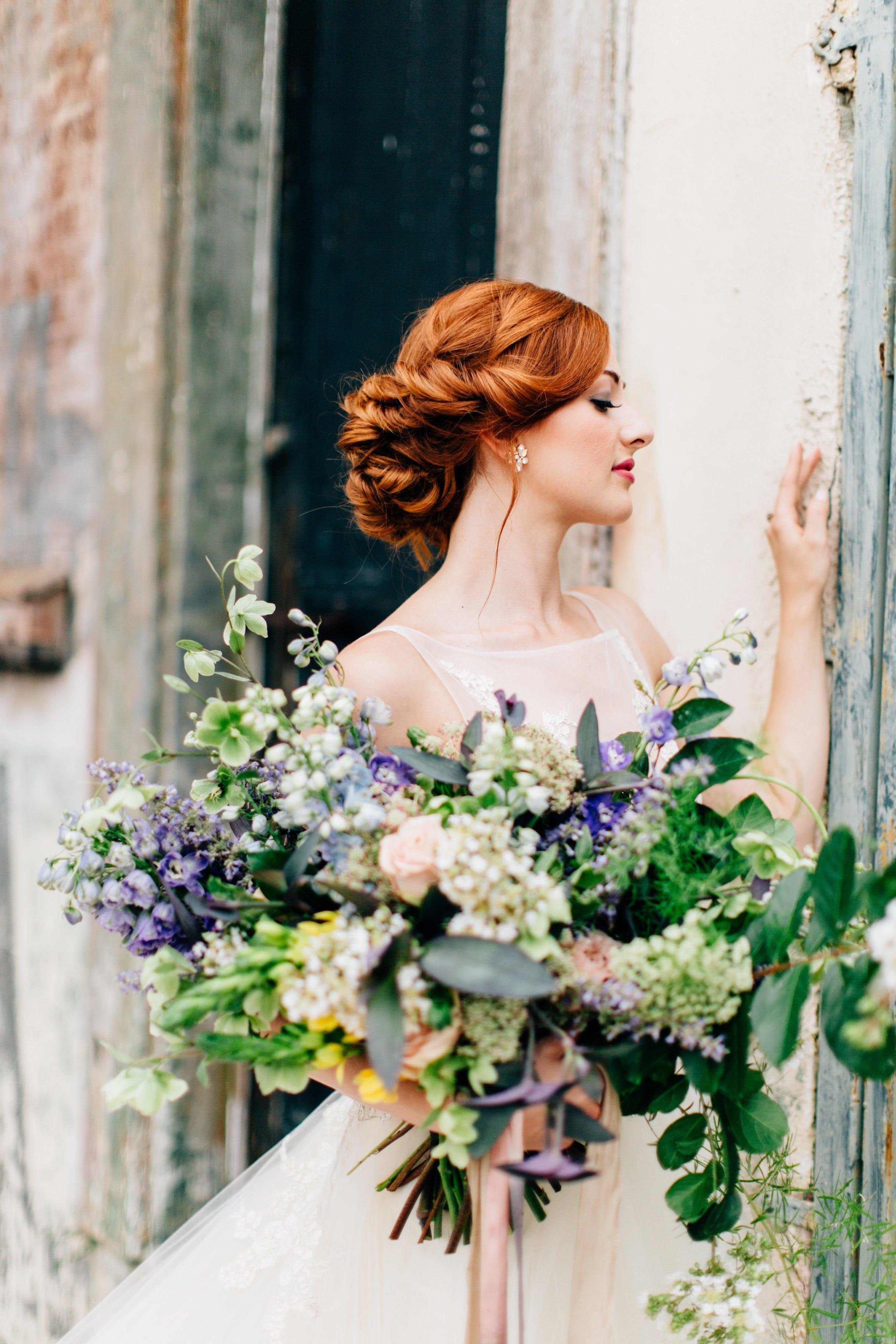 Elegant, OrganicInspired Elopement Wedding, Wedding