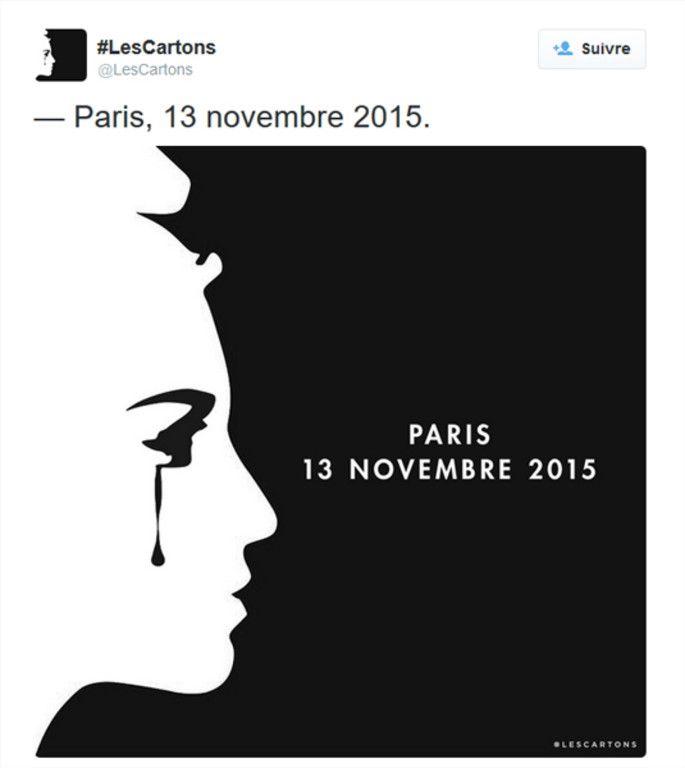 Comme après les attentats de janvier 2015, les dessinateurs, professionnels et anonymes ont réagi à l'horreur en s'emparant de leur planche à